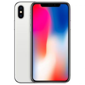 iphoneX silver diamu