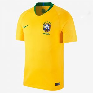Fifa World Cup Jersey Brazil 2018 home diamu