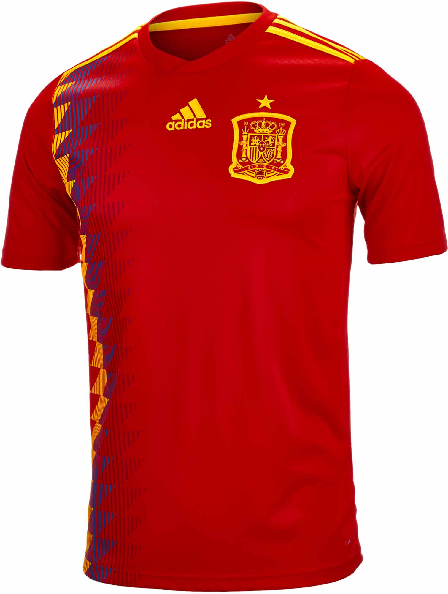 new product c337d d108b Spain Home Jersey FIFA World Cup 2018