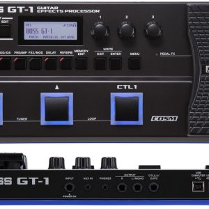 BOSS GT-1 Guitar Effects Processor with adapter Diamu