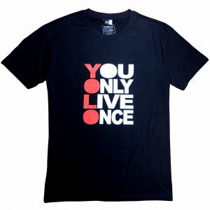 YOLO t-shirts diamu