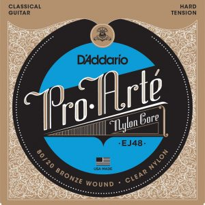 DAddario-EJ48-8020-Bronze-Pro-Arté-Nylon-Strings daimu