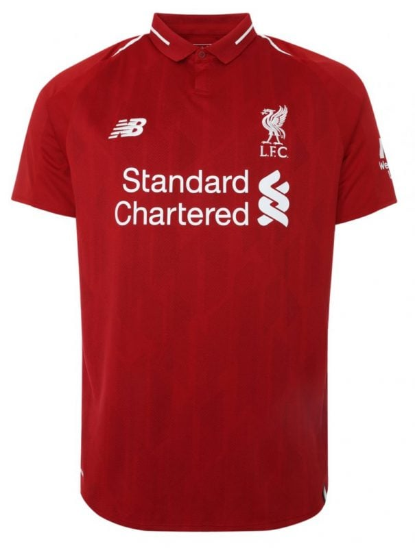 best sneakers e130d 34777 Liverpool FC Home Jersey 2018-19