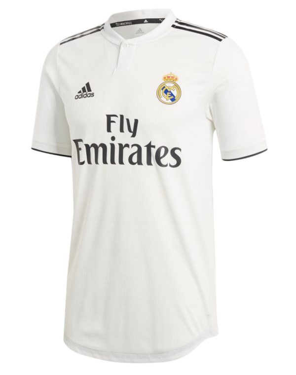 Real Madrid Home Jersey Player Version 2018 19  cf42712d8