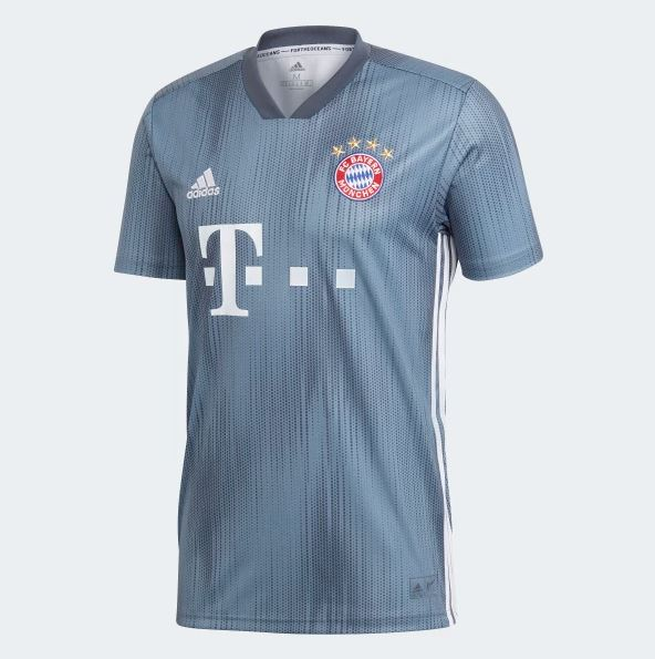 FC Bayern Third Jersey 2018 19 - Best Price in Bangladesh  2e54eded7