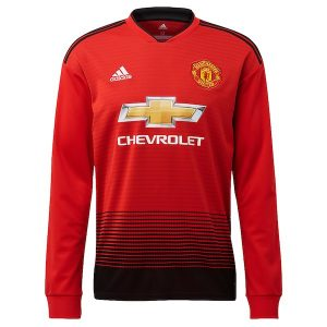manchester united home jersey full sleeve