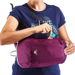 10L backpack dark purple diamu