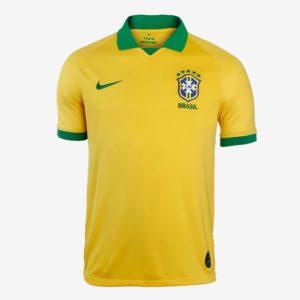 brazil home jersey copa america 2019 Diamu