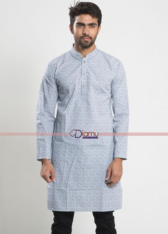 Erotas Men's Cotton Panjabi diamu
