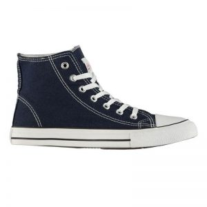 Lee Cooper Canvas Hi Top Shoes diamu