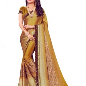 Indian Original Creepe Silk Saree Diamu