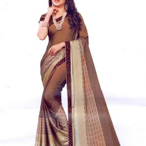 Indian Original Creepe Silk Saree
