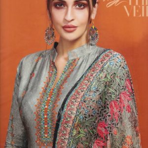 Aanzara Embroidered Suits DASS-02