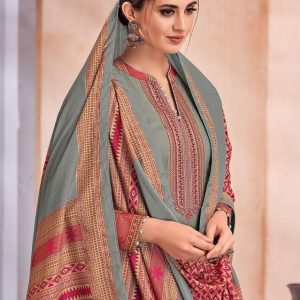 Embroidered Pure Lawn Traditional Salwar Kameez Suits 902 Diamu