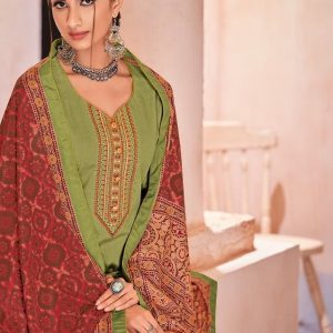 Embroidered Pure Lawn Traditional Salwar Kameez Suits 905 Diamu