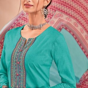 Embroidered Pure Lawn Traditional Salwar Kameez Suits 909 Diamu