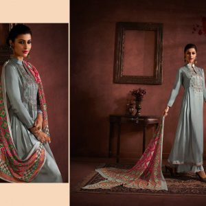 Hansa Prints Husna Ara Embroidered Suits