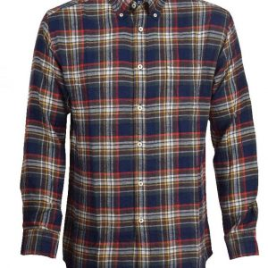 Men's Classic Fit Flannel Shirt DFS-402 Diamu