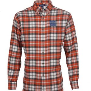 Men's Classic Fit Flannel Shirt DFS-405 Diamu