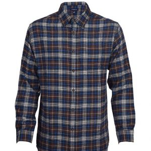 Men's Classic Fit Flannel Shirt DFS-406 Diamu
