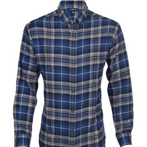 Men's Classic Fit Flannel Shirt DFS-407 Diamu