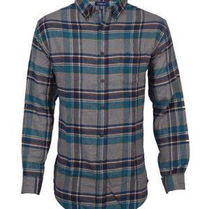 Men's Top Brand Classic Fit Flannel Casual Shirt (DFS-412) Diamu
