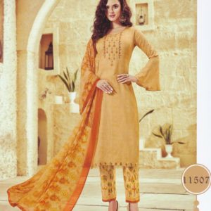 Ruhaab Embroidered Cotton Salwar Kameez Suits DRCS-11507 Diamu