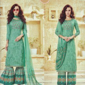 Ruhaab Embroidered Cotton Salwar Kameez Suits DRCS-11508 Diamu