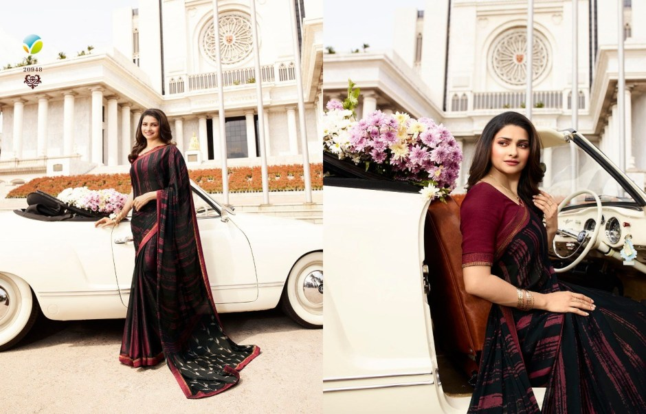 Vinay Starwalk 42 Georgette Printed Saree 20948