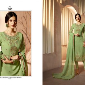 Vivek Arnavi Embroidered Georgette Salwar Suits DAS-1205 Diamu