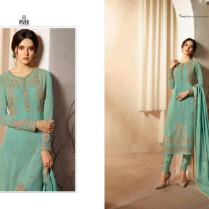 Vivek Arnavi Embroidered Georgette Salwar Suits DAS-1208 Diamu