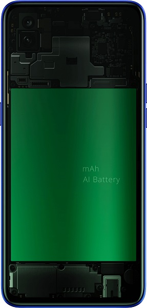 realme 3 pro battery