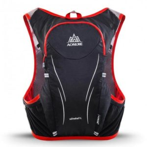 Lightweight running backpack C928 red