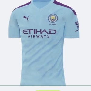 manchester city home jersey 2019-20 1