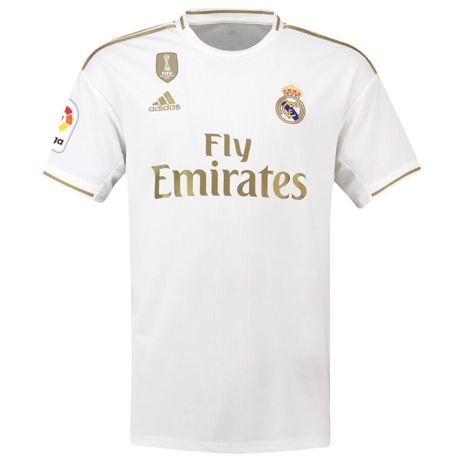 meet 443bc 6cb4c Real Madrid Home Jersey 2019-20