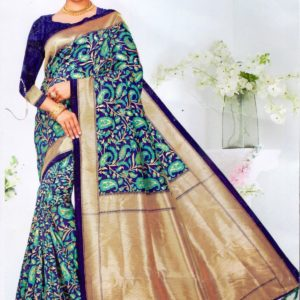 Nakashi Silk Katan Saree Diamu