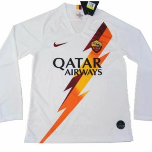 AS Roma Away Jersey Full Sleeve Diamu