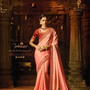 FIONA ARDHANGINI SATIN SILK SAREE Diamu