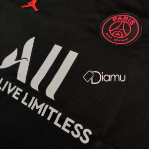 Jordan PSG Goalkeeper Kit Diamu