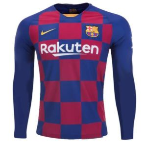 FC barcelona home jersey full sleeve 2019-20