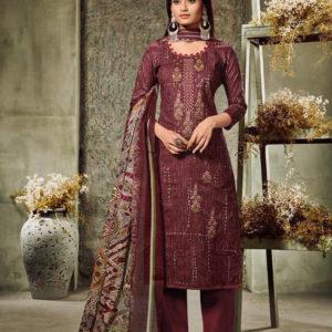 Sharda Cotton Embroidered Salwar kameez Diamu