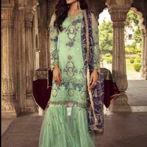 Juvi Embroidered Georgette Salwar Suits Diamu