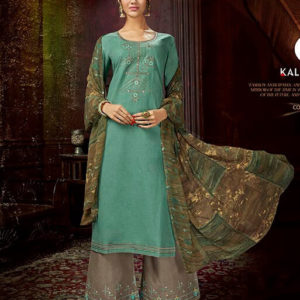Kalarang Embroidered Cotton Salwar Suits Diamu