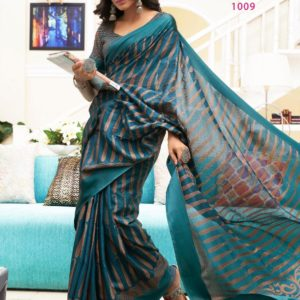 LT Elegance Silk Cotton Fancy Saree Diamu