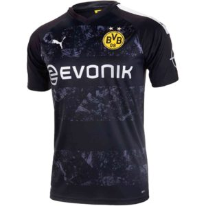 Borussia Dortmund Away Jersey Diamu