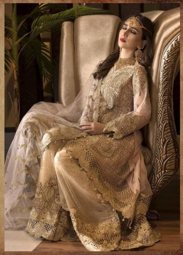 Gulbano Heavy Embroidered Georgette Salwar Suits (DGSS-001)