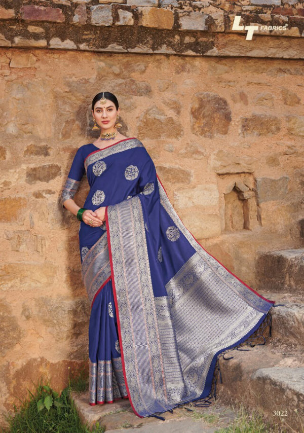 LT Shakshi Weaving Silk Saree DLSS-3022 Diamu