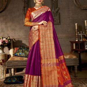 Shakunt Anshula Weaving Silk Saree (DSAS-40403) Diamu
