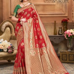 Shakunt Kishori Weaving Silk Saree DSKS-113