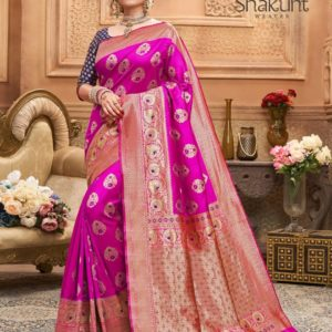 Shakunt Kishori Weaving Silk Saree DSKS-116 Diamu